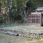 主郭に建つ神明社