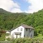 根小屋城の全景