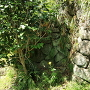 隅を欠いた石垣