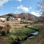 真田氏館から天白城遠景