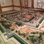巽櫓内の駿府城ジオラマ