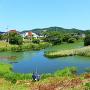 白河小峰城 南西部水堀