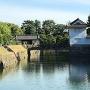 本丸櫓門と東橋