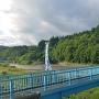 登城口への橋