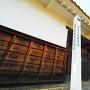 陣屋標柱と長屋門