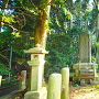 島津豊久の記念碑
