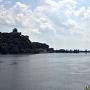 犬山城と木曽川(対岸から)