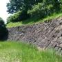 本丸内堀側石垣