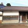 現存している小松城二の丸鰻橋門(来正寺の寺門)