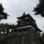 曇天の丸岡城
