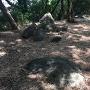 石垣の残骸?