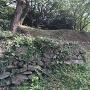 二の丸下の石垣