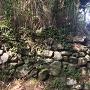 三の丸直下の石垣