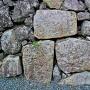鉄御門虎口跡にある刻印