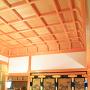 大書院 上段之間 折り上げ格天井、帳台構、違い棚