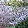 本丸大手口左脇の石垣