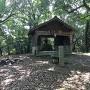 三の丸跡に建つ愛宕神社