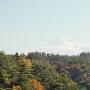 二の郭からの眺望(富士山)