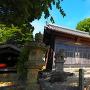 城址に建つ神明社