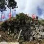 陣屋の石垣