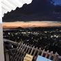 天守からの瀬戸内夕景