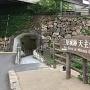 改札階へのトンネル