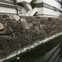 本丸中門脇の石垣