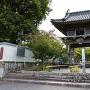 称念寺にある城跡碑