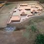 吉川元春館跡の模型