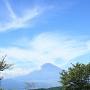 山中城から見える富士山[提供:三島市役所商工観光課観光政策室]