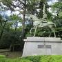 前田利長公銅像
