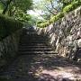 安芸亀居城 石垣