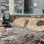 発掘された石垣①