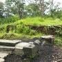 愛宕神社本殿が建っていた場所の現在の現状2
