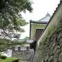 狸櫓・北虎口門(西側)