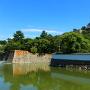 丸亀城 水堀と石垣
