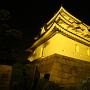 高松城 夜の艮櫓