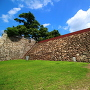 岡山城 中の段石垣