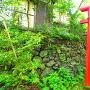 稲荷神社下の石垣