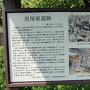 黒塚東遺跡案内板