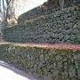 「焼き石」の石垣