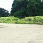 主郭南側に位置する現存土塁