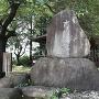城跡碑@諏訪神社境内