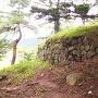 四脚門跡の石垣
