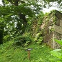 二の曲輪櫓門東側の石垣