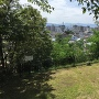 長野市内を望む