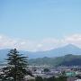 天守より磐梯山を望む