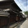 城下町の風景(太田家住宅)