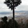 城址からの眺望(高島城方面)