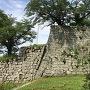 竹之丸東面の石垣